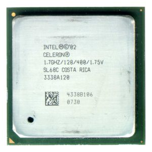 Процессор Intel Celeron 1.7GHz/128kb/400MHz Socket478 OEM