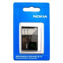 АКБ Оригинал для Nokia BL-5C (1100/1112/1200/3120/3650/3660) 1020 mAh