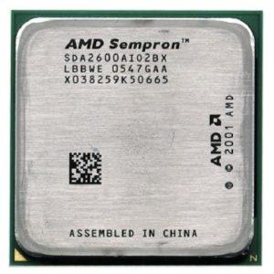 Процессор (CPU)  Sempron 2600+ 1600Mhz 333Mhz 128Kb S754 OEM