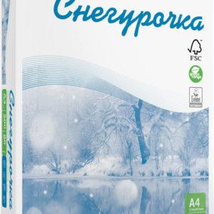Бумага Снегурочка 500 листов А4 пл 80гр/м*м