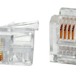 Коннектор (телефонный) Rj-11 [6P4C]