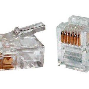 Коннектор (телефонный) Rj-12 [6P6C]
