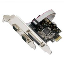 Контроллер PCI-E COM(2-ports) + LPT(1-port) PCI-E x1