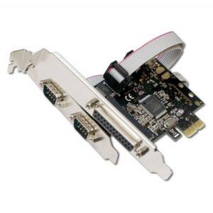 Контроллер PCI-E COM(2-ports) + LPT(1-port) PCI-E x1