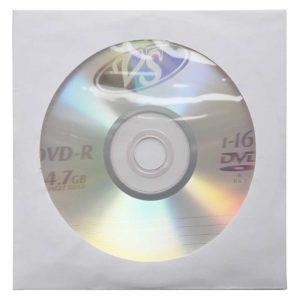 Диск DVD-R VS 4.7 Gb 16х (в конвертах)