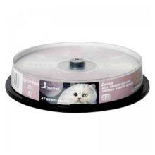 Диск DVD+RW Smart Track 4.7Gb 4x (10 шт на шпиле)