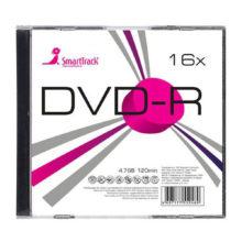 Диск DVD-R SmartTrack 16х 4.7Gb Slim inkjet