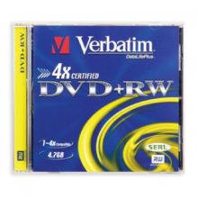 Диски DVD +/- RW