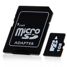 Карты памяти microSD, SD