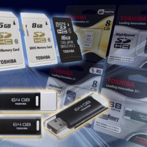 11.Флешки USB и карты памяти