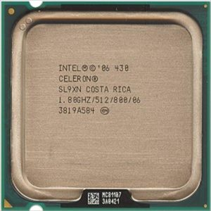 Процессор (CPU) INTEL Celeron 430 1800/512/800 64 bit S775