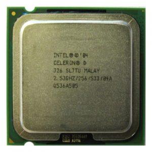 Процессор (CPU) INTEL Celeron D 326 – 2533 S775 533Mhz 256K 64-bit OEM
