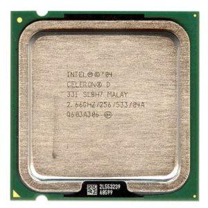 Процессор (CPU) INTEL Celeron D 331 – 2667 S775 533Mhz 256K 64-bit OEM
