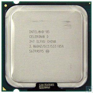 Процессор (CPU) INTEL Celeron D 347 – 3066 S775 533Mhz 512K 64-bit OEM