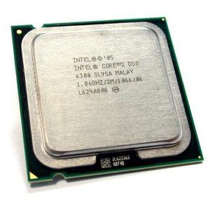 Процессор (CPU) INTEL Core2 Duo (Allendale) E6300 1860MHz 1066FSB 2Mb OEM S775