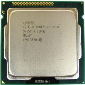 Процессор Intel Core i3-2100  3.1/5000/256×2 + 3Mb LGA1155