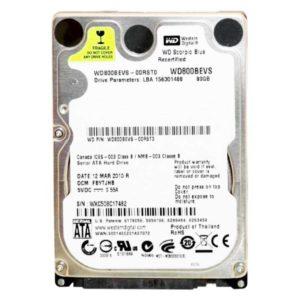Накопитель (HDD) 80 Gb SATA 2.5″ для ноутбуков (Б/У)
