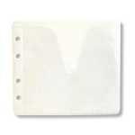 Конверт пластиковый на 1-2 CD белый