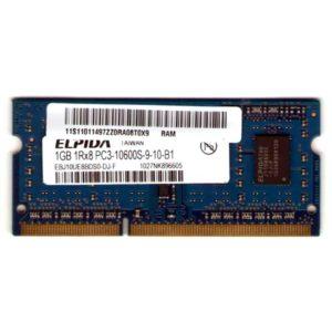 Модуль памяти SO-DIMM DDR3 1Gb PC-10600 1333 Mhz Elpida