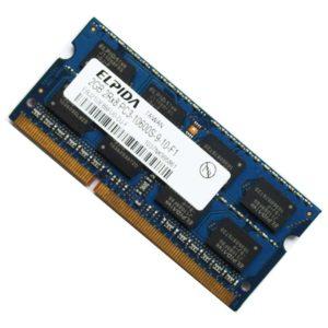 Модуль памяти SO-DDR-III 2Gb PC-10600 1333 Mhz Elpida