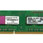 Модуль памяти SO-DIMM DDR3 1Gb PC-10660 1333 Mhz Kingston