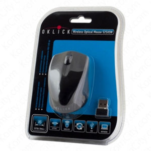 Мышь Oklick 525XSW USB Б/П Black