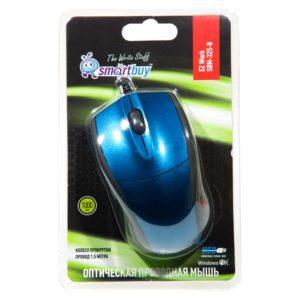 Мышь USB SmartBuy 325 Blue Синий (SBM-325-B)