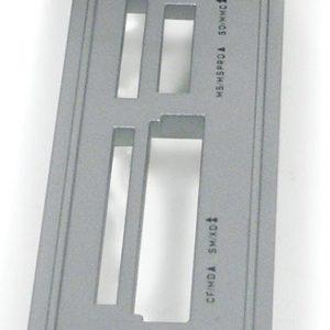 Панель передняя для карт-ридера AcorpCRIP200 Серебристая