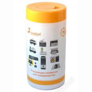 Салфетки  SmartTrack влажные для поверхностей в пластиковой тубе (100 шт.)