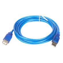 Удлинитель USB-2.0 Am\Af 5.0 m прозрачный