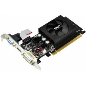 Видеокарта PCI-E 1024Mb Palit GeForce GT210 DDRIII 64bit DVI HDMI VGA OEM (NEAG2100HD06)