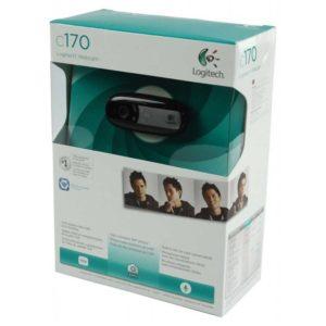 Веб-камера Logitech C170 USB 640x480 микрофон