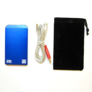 Бокс внеш. для HDD (2,5″ SATA\USB2.0) AGESTAR SUB2O1 синий