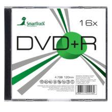 Диск DVD+R SmartTrack 4,7 Gb 16x Slim