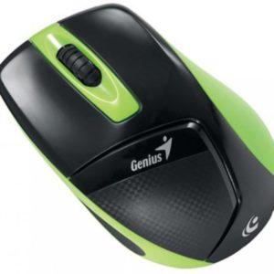 Мышь USB Genius DX-7000 Беспроводная Черная, зеленая