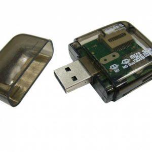 Card Reader CR-1867 (507) для MicroSD SD M2 M2DUO