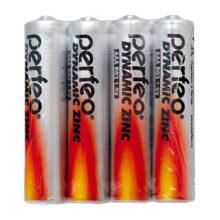 Батарея AAA Perfeo R03/4SH Dynamic Zinc (4 шт в упаковке)