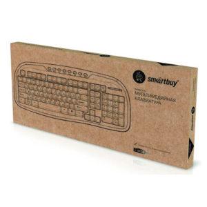 Клавиатура USB SmartBuy 205 Мультимедийная/ Чёрная (SBK-205U-K)