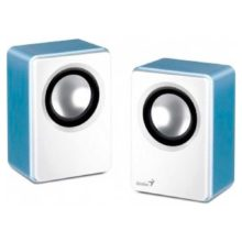 Колонки Genius SP-Q120 (P2.0) 2x1W синие