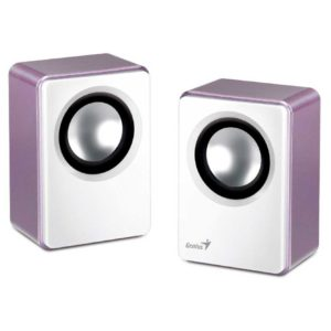 Колонки Genius SP-Q120 (P2.0) 2x1W пурпурные