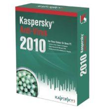 Программное обеспечение Антивирус Kaspersky 2010 + 2-пользов. 12 мес BOX