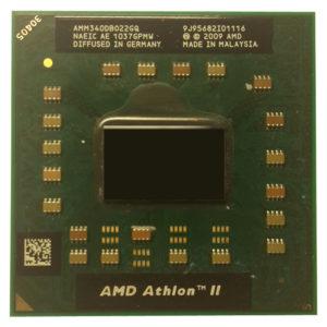 Процессор AMD Athlon II Mobile M340 2x2200MHz (AMM340DB022GQ) Б/У