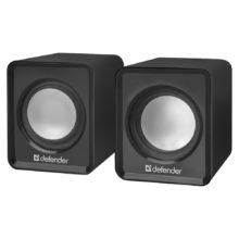 Колонки DEFENDER SPK-22 (P2.0) 2х2.5Вт Black USB Чёрные