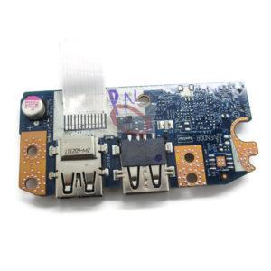 Плата 2xUSB со шлейфом 12-pin 190×13 мм для ноутбука Acer Aspire 5750, 5750G, 5750ZG, Packard Bell TS11 (P5WE0 LS-6904P, LS-6904P2010-11-18, P5WE0 USB30 NBX0000V800)