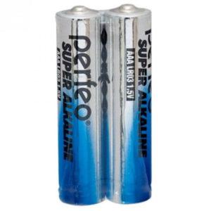 Батарея AAA LR03-2SP Perfeo Super Alkaline (2 шт в пленке)