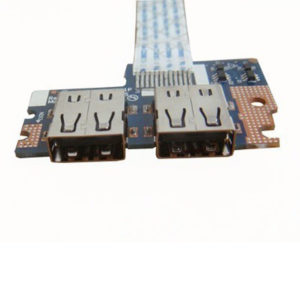 Плата 2xUSB для ноутбука Acer Aspire 5250, 5550, 5551, 5552, 5740, 5741, eMachines E640, E642 (LS-5891P) + шлейф (NBX0000ND00)