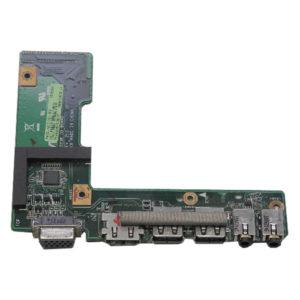 Плата 2xUSB, HDMI, VGA, Audio для ноутбуков серий Asus K52, X52 (K52JR_IO_BOARD, 60-NXNI01000-C01)