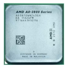 Процессор AMD A8 3870K 4x3.0Ghz, 4x1Mb, Radeon HD 6550D Socket FM1
