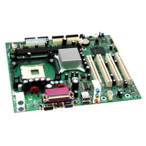 Материнская плата (M/B) P-IV INTEL DESKTOP BOARD 845GLLY SVGA 2xSDRAM 4xPCI 2xIDE FDD AUDIO USB2.0 MicroATX LGA478