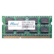 Модуль памяти SO-DIMM DDR-III 2Gb PC-10600 1333 Mhz ASint чипы Elpida 16-chips (SSZ3128M8-EDJEF)